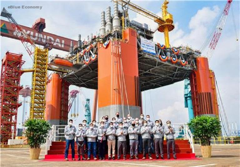 eBlue_economy_Korea Shipbuilding wins 660 bln-won offshore facility order in U.S.