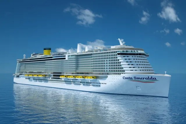 eBlueCosta Cruise Newbuild Executes First LNG Bunkering Operation at Meyer Werftnomy