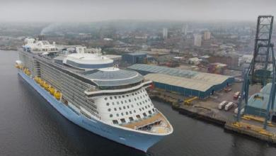 eBlue_economy_First cruise ship calls at Greenock since pandemic struck
