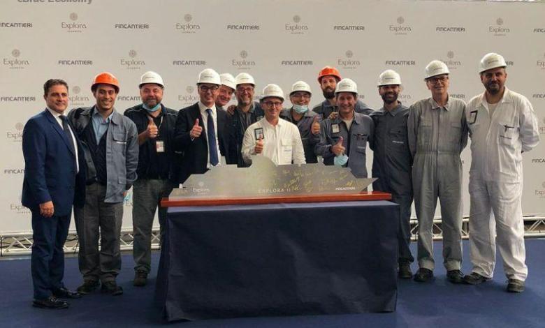 eBlue_economy_Fincantieri and MSC celebrate the start of construction of Explora II