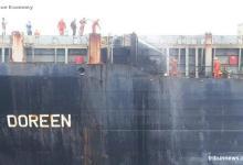 eBlue_economy_Fire on cargo deck extinguished by crew, Malacca Strait