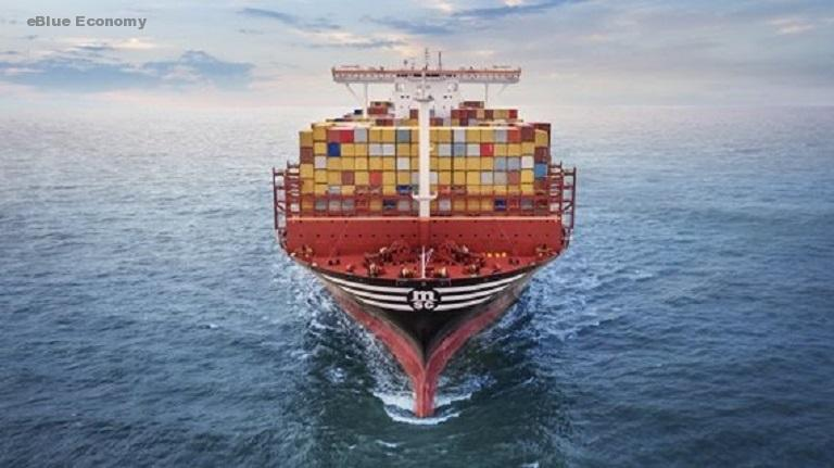 eBlue_economy_MSC Cooperates with Key Chinese Research Institute to Promote Decarbonisation and Sustainable Shipping