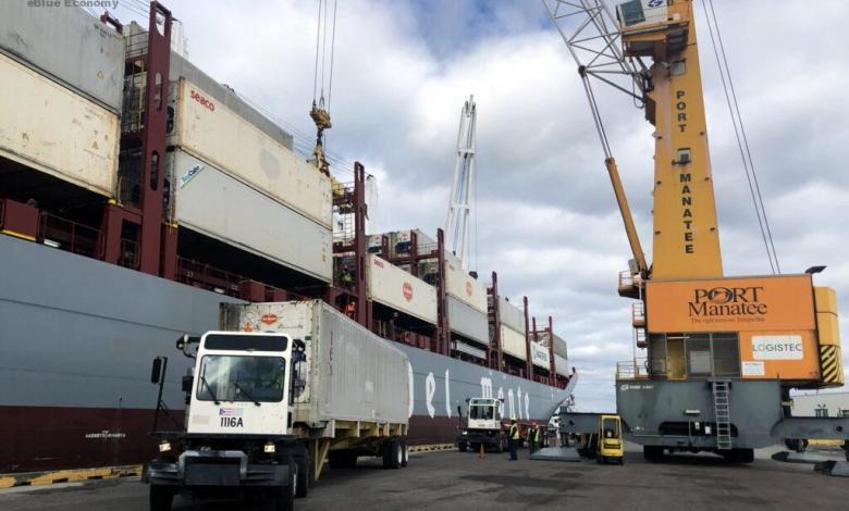 eBlue_economy_Port Manatee, Del Monte extend import hub relationship