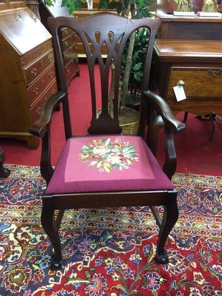 Antique Mahogany Claw Foot Arm Chairs Quot Sold Quot ⋆ Bohemian S