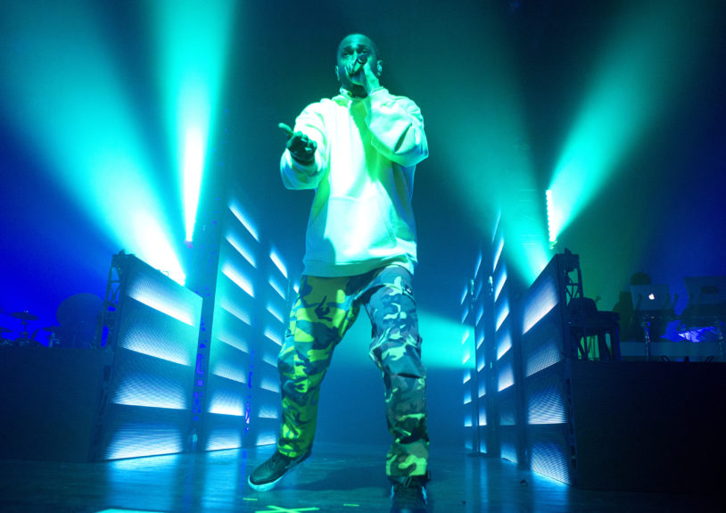 "Rapper Big Sean performs in concert during his ""I Decided Tour"" at The Fillmore on Wednesday, April 12, in Philadelphia. Photo: Owen Sweeney/Invision/AP"