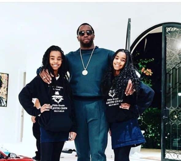 Diddy Sarah Chapman And Daughters