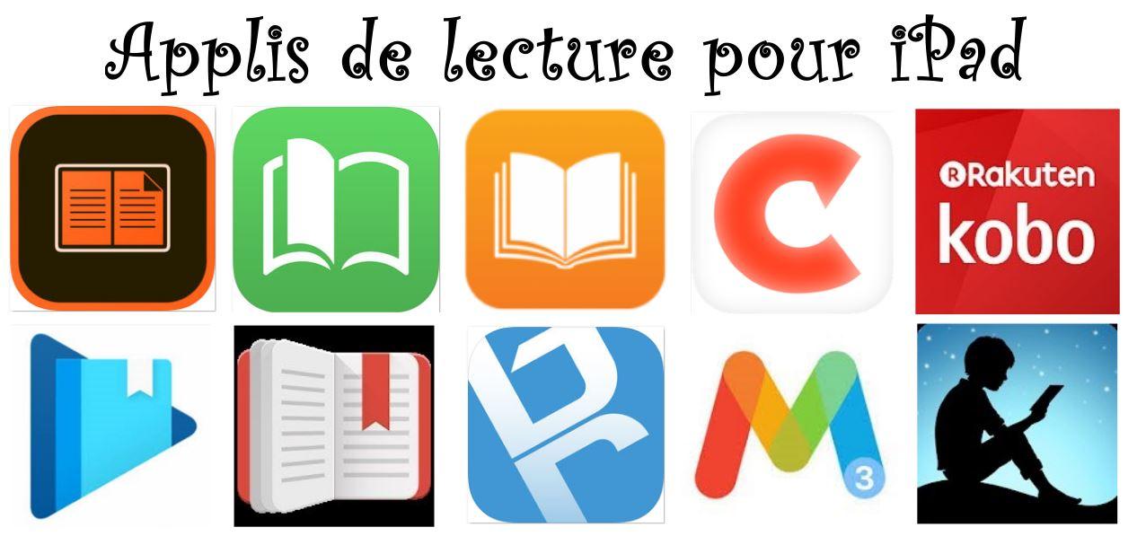 10 application pour lire des ebooks (livrels) sur tablette iPad
