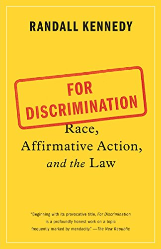 Book Cover For Discrimination: Race, Affirmative Action, and the Law