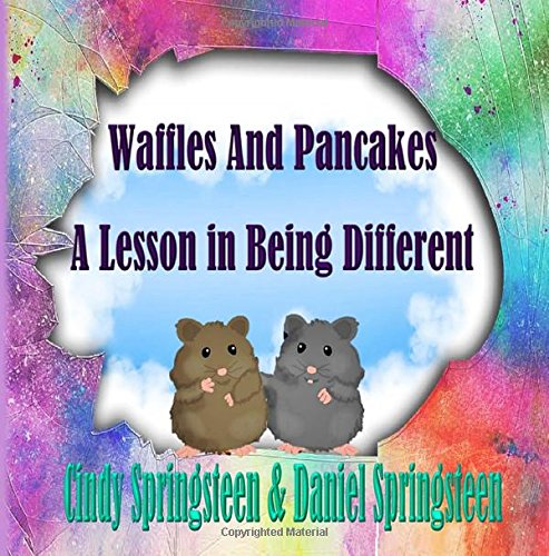 Book Cover Waffles And Pancakes: A Lesson In Being Different