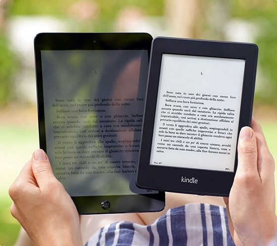 iPad Mini e Kindle PaperWhite a confronto