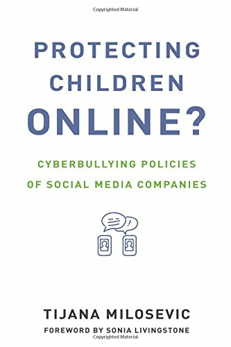Large book cover: Protecting Children Online?: Cyberbullying Policies of Social Media Companies