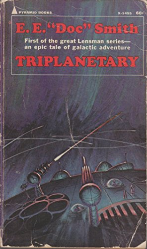 Large book cover: Triplanetary