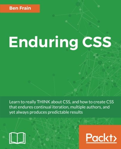 Large book cover: Enduring CSS