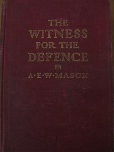 Large book cover: Witness for the Defence
