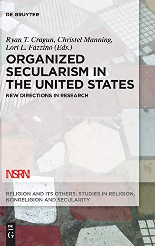 Large book cover: Organized Secularism in the United States