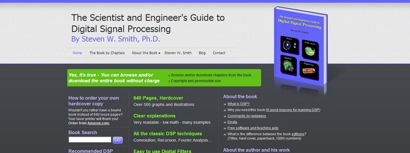 The Scientist and Engineer's Guide to Digital Signal Processing by Steven W. Smith