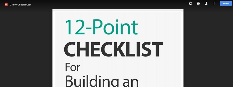 12-Point Checklist For Building an Online Business by Steve Osida