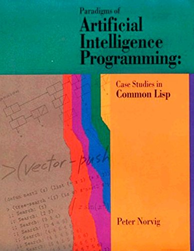 Large book cover: Paradigms of Artificial Intelligence Programming