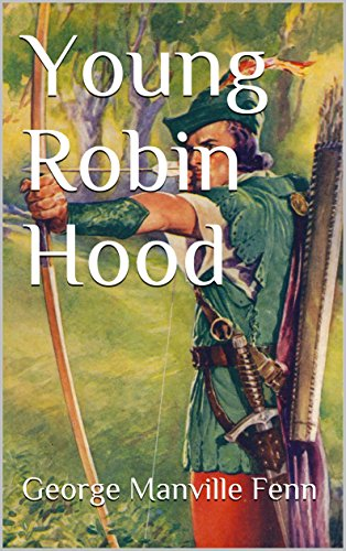 Large book cover: Young Robin Hood