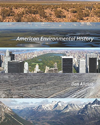 Large book cover: American Environmental History