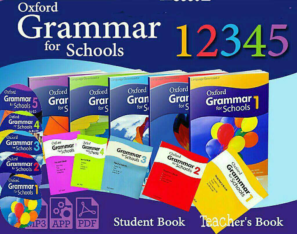 [Series] Oxford Grammar for schools 1,2,3,4,5 ( Full books + CD )