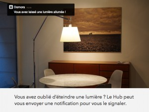 hub-domora-notification-lumiere