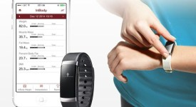 InBody-Band-bracelet-connecté-quantified-self-analyse corporelle-smartphone