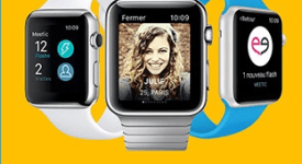 Application Meetic Apple Watch