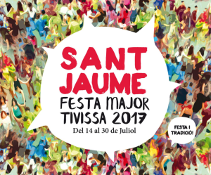 Tivissa festa major 2017 poster