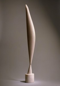 Constantin Brancusi created Bird in Space in a series of sculptures beginning in 1923. In 2005, it fetched 27.5 million dollars, a record price for a sculpture at the time.