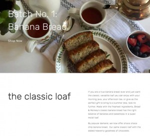 Bread and Monkey's homepage