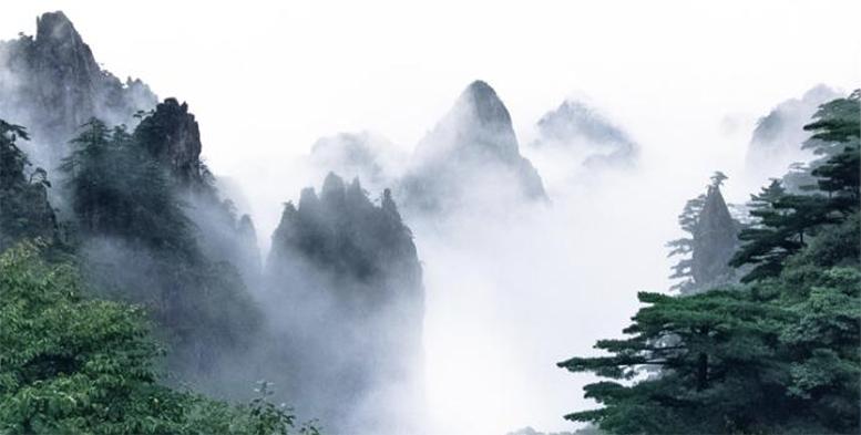 Zhang Jiaxuan, Huangshan: Flower Blooming on a Magic Brush Tip
