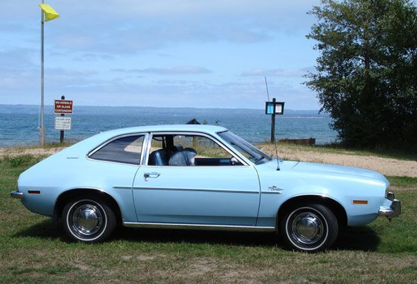The dreaded 'hit from behind, burst into flames', Ford Pinto.