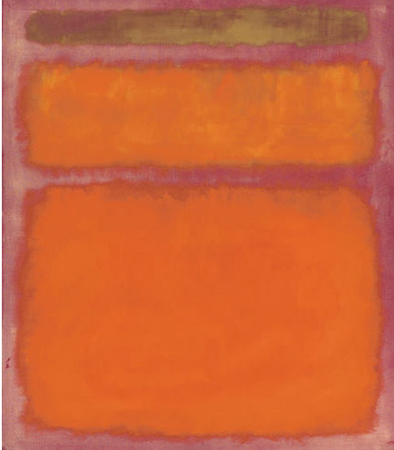Mark Rothko         Orange Red Yellow