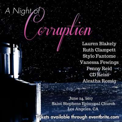 A Night of Corruption Blog Tour
