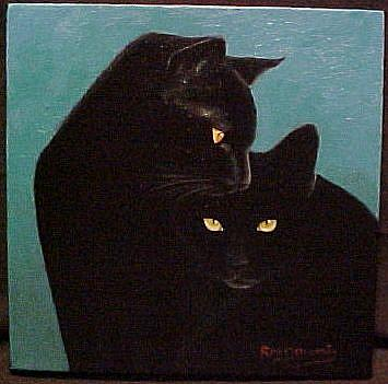 Special Guest Post: Black Cat Valentine's Day - Adopt! (2/6)