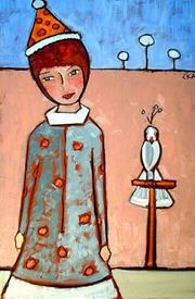 Art: birthday party by Artist C. k. Agathocleous