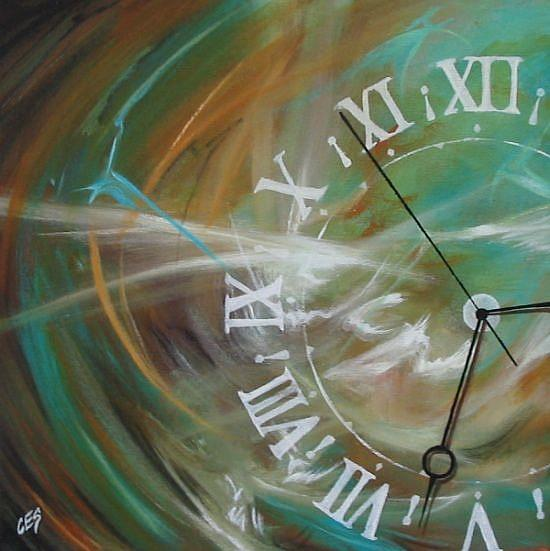 Time by Christine E Striemer