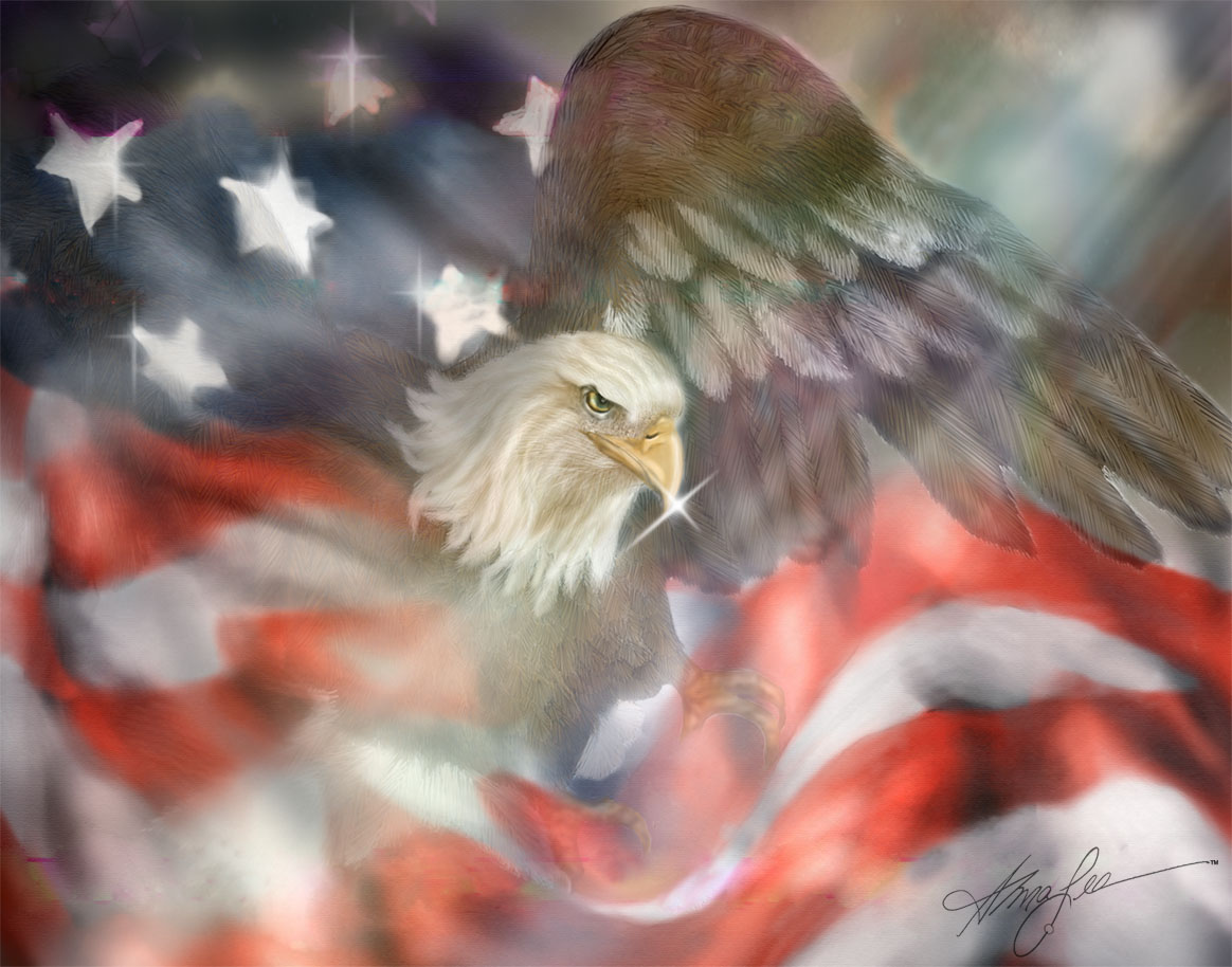 American Eagle - Alma Lee