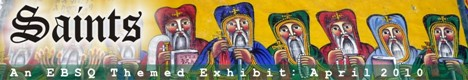 Online Art Exhibit:Saints