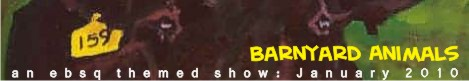 Online Art Exhibit:Barnyard Animals