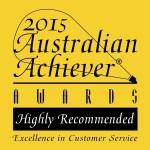 Australian Achiever Award EBS 2015