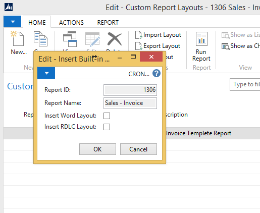 convert word layout to Dynamics NAV 2015 reports im4