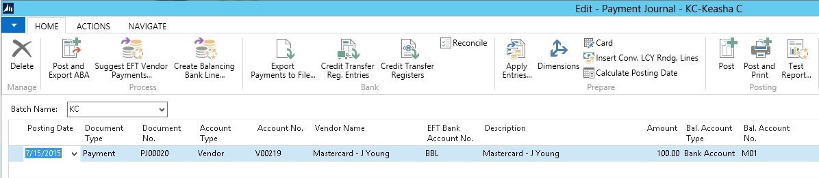 Setting up credit cards in Microsoft Dynamics NAV im9.jpg