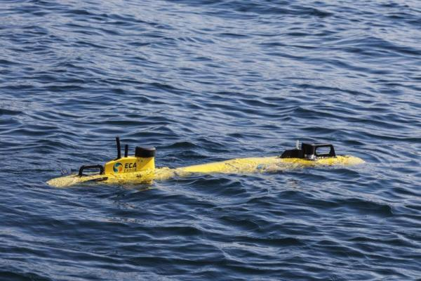 ECA Group A9 Autonomous Underwater Vehicle (AUV). Photo Credit: ECA Group.