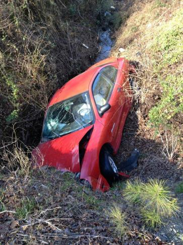 Carolyn Ann Watkins' 2000 Pontiac was found in a watery ditch, down a steep embankment off Swift Creek Road, about 4 miles southwest of Smithfield on March 29, 2013. The car was towed to an impound lot, and the woman's body was found inside three days later.