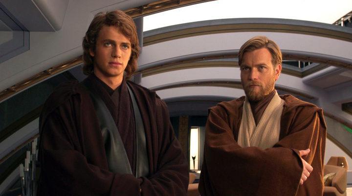 'Star Wars' Anakin y Obi-Wan Kenobi