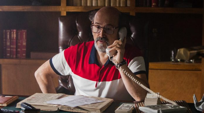 Javier Cámara en 'Narcos'