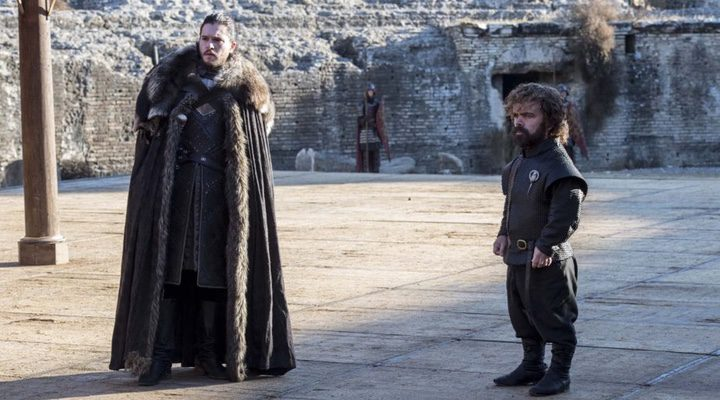 Peter Dinklage y Kit Harington en 'Juego de Tronos'