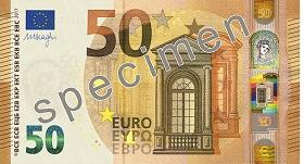 50 euro – strona przednia